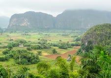 Intorno alla valle di Vinales in Cuba Immagine Stock