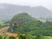 Intorno alla valle di Vinales in Cuba Fotografie Stock Libere da Diritti