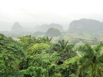 Intorno alla valle di Vinales in Cuba Fotografia Stock