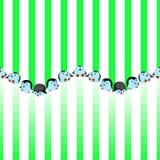 Intorno a e scivolamento divertente dei pinguini illustrazione vettoriale