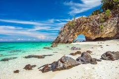 Intorno a Koh Lipe Island in Tailandia Fotografia Stock
