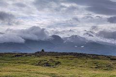 Intorno a Olafsvik Islanda fotografia stock libera da diritti
