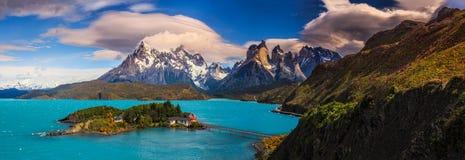 Intorno a Patagonia cilena immagine stock