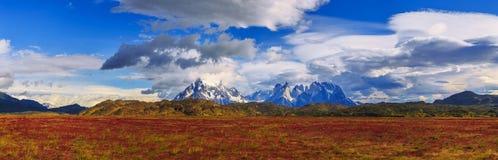 Intorno a Patagonia cilena fotografia stock