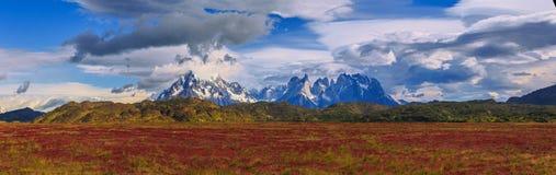Intorno a Patagonia cilena fotografia stock libera da diritti