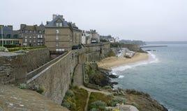 Intorno a Saint Malo immagine stock libera da diritti
