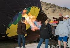 Intoxicação por gases acima do balão Fotografia de Stock Royalty Free