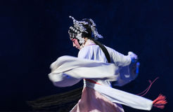 "Intoxicated-The fourth act unexpectedness-Kunqu Opera""Madame White Snake"" Royalty Free Stock Images"