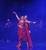 Intoxicating hair incense-Spanish flamenco-the Austria's world Dance Royalty Free Stock Image