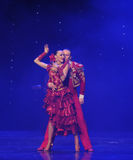 Intoxicating hair incense-Spanish flamenco-the Austria's world Dance Royalty Free Stock Photography