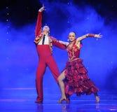 Intoxicating hair incense-Spanish flamenco-the Austria's world Dance Stock Image
