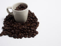Intoxiqué de café Photo libre de droits