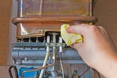 Intoxique o calefator de água Foto de Stock Royalty Free