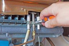 Intoxique o calefator de água Foto de Stock