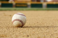 intra-champ de base-ball images stock