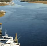 Intra coastal waterway Royalty Free Stock Images