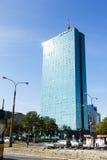 Intraco I, immeuble de bureaux, Varsovie Images libres de droits