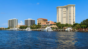 Intracoastal Waterway Royalty Free Stock Photo