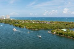 Intracoastal Waterway Royalty Free Stock Photography