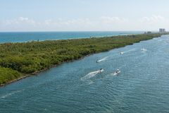 Intracoastal Waterway Stock Photography