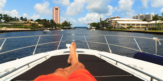 Intracoastal Waterway Stock Image