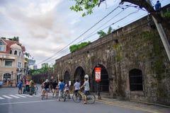 Intramuros стена Стоковое Фото