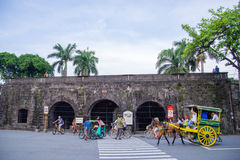 Intramuros стена Стоковая Фотография