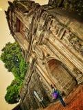 Intramuros royaltyfri foto