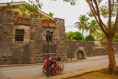 Intramuros fortSantiago in, Manila stad, Filippinerna arkivbilder