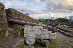 Intramuros Wall Royalty Free Stock Images