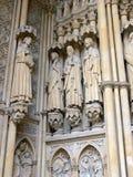 Intrance de la catedral de Metz Fotografía de archivo libre de regalías