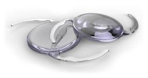 Intraocular lensimplant royalty-vrije stock afbeelding