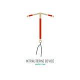 Intrauterine Device Icon vector illustration