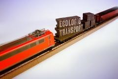 Intrenational Ecologic locomotive transport Stock Photo