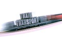 Intrenational Ecologic locomotive transport Stock Image