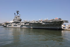 Intrepid Aircraft Carrier Royalty Free Stock Image