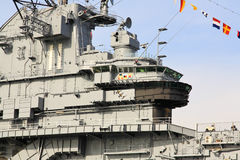 The Intrepid Museum in Manhattan Stock Photos