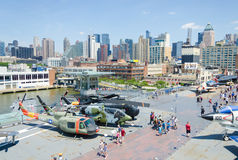 Intrepid museum in New York city Royalty Free Stock Photography