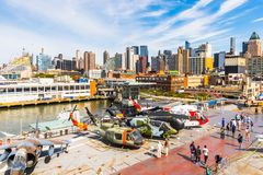 Intrepid Sea, Air And Space Museum, New York Royalty Free Stock Image