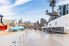 Intrepid Sea, Air And Space Museum, New York Stock Images