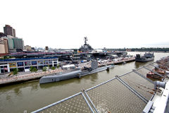 The Intrepid Sea-Air-Space Museum Royalty Free Stock Images