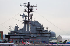 The Intrepid Sea-Air-Space Museum Royalty Free Stock Image