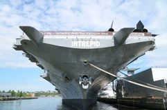 Intrepid Sea, Air and Space Museum Stock Photo