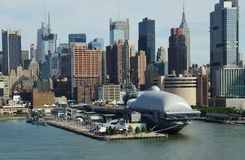 The Intrepid Sea , Air and Space Museum . New York City Stock Photography