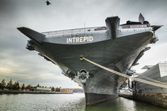 Intrepid USS Royaltyfri Foto