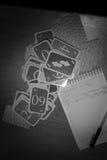 Intressant roligt kortspel, fritid Royaltyfria Foton