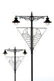 intressant streetlights Royaltyfri Bild