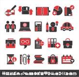 intressera för affärssymboler Arkivfoton