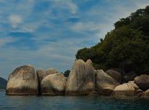 Intresting oscila en las islas Perhentian en Malasia imagenes de archivo