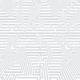 Intricacy labyrinth maze seamless pattern background design template vector illustration Royalty Free Stock Photos